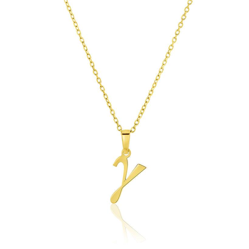 Μενταγιόν Alphabet γράμμα ''γ'' από χρυσό 18Κ
