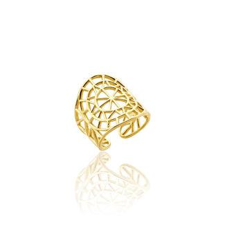 Εικόνα της Δαχτυλίδι Cyclades από επιχρυσωμένο ασήμι 925°