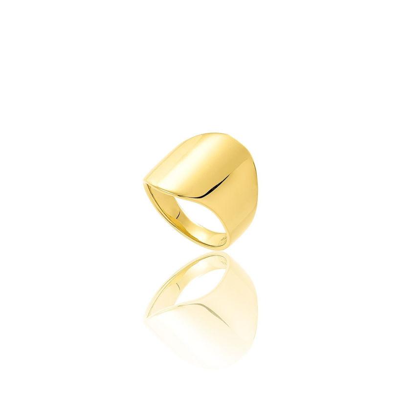 Δαχτυλίδι Reflections από επιχρυσωμένο ασήμι 925°