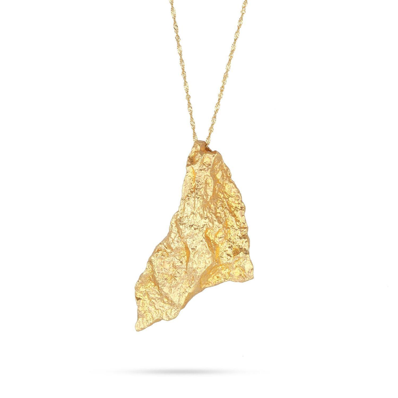 Κολιέ Gaia Gold από χρυσό 18Κ
