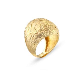 Εικόνα της Δαχτυλίδι Gaia Gold από χρυσό 18Κ