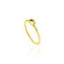 Δαχτυλίδι Gems από χρυσό 18Κ με κίτρινο ζαφείρι και διαμάντια μπριγιάν