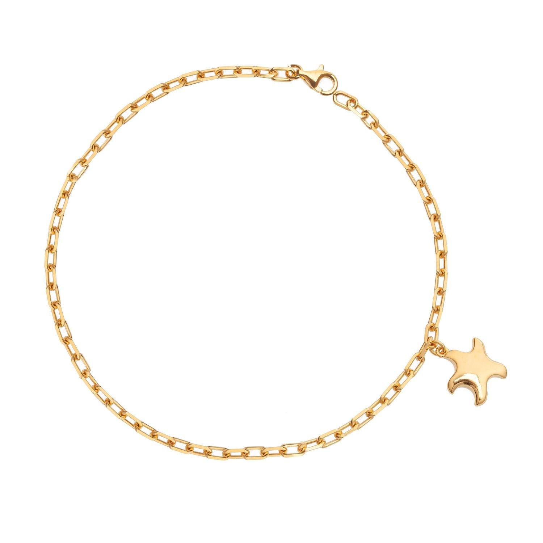 Bραχιόλι Be My Star από επιχρυσωμένο ασήμι 925°
