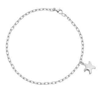Βραχιόλι Be My Star από επιροδιωμένο ασήμι 925°