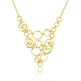 Κολιέ Aurum από χρυσό 18Κ