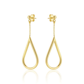 Σκουλαρίκια Aurum από χρυσό 18Κ