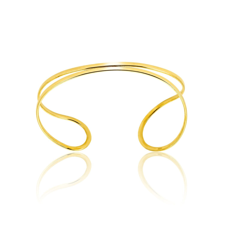 Βραχιόλι Aurum σταθερό από χρυσό 18Κ