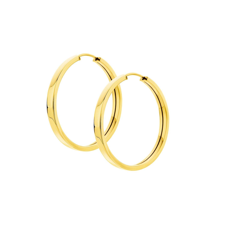 Σκουλαρίκια Aurum κρίκοι από χρυσό 18Κ