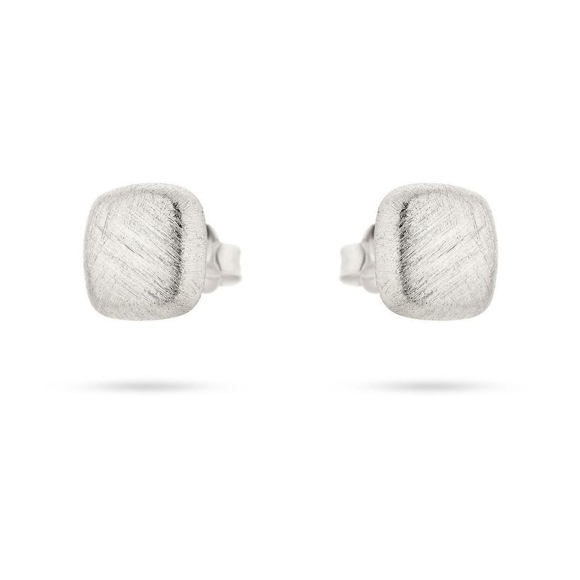 Σκουλαρίκια Roma από επιροδιωμένο ασήμι 925°
