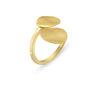 Δαχτυλίδι Roma από επιχρυσωμένο ασήμι 925°