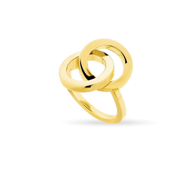 Δαχτυλίδι You & Me από επιχρυσωμένο ασήμι 925°
