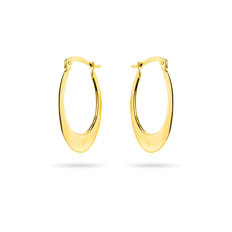 Σκουλαρίκια κρίκοι από χρυσό 18K