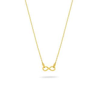 Μενταγιόν Symbols Άπειρο από χρυσό 18K