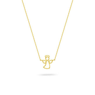 Μενταγιόν Symbols Αγγελάκι από χρυσό 18K