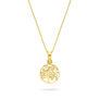 Μενταγιόν Symbols Tree of Life από χρυσό 18K