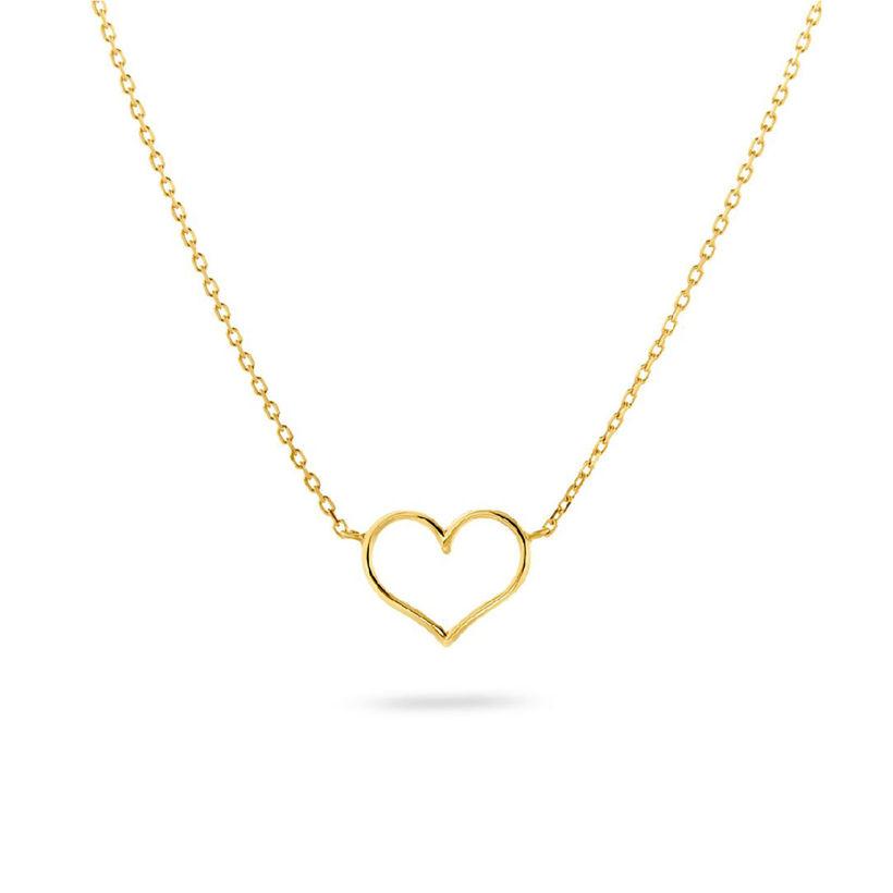 ΜενταγιόνSymbols Καρδιά από χρυσό 18K