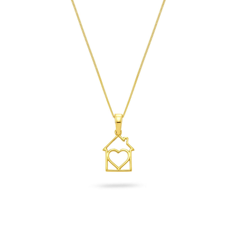 Μενταγιόν Symbols House of Love από χρυσό 18K