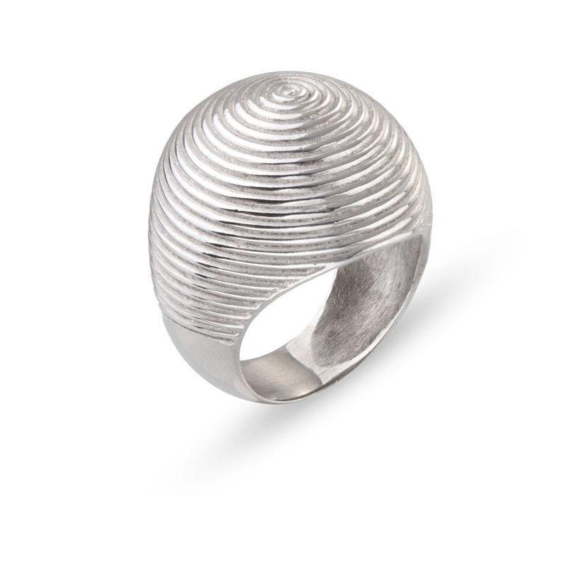 Δαχτυλίδι Mitos από επιροδιωμένο ασήμι 925°